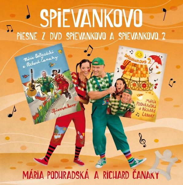 Mária Podhradská a Richard Čanaky - CD PIESNE Z DVD SPIEVANKOVO 1 A 2