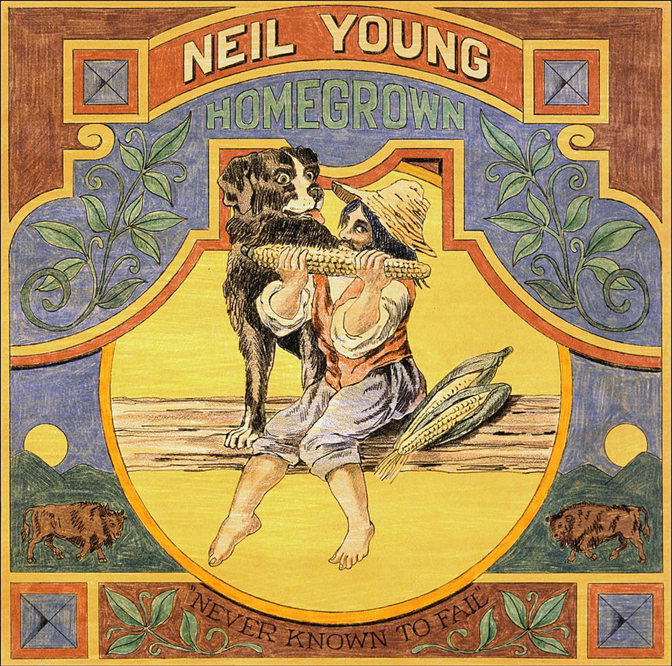 Neil Young - CD HOMEGROWN