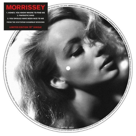 Morrissey - Vinyl HONEY YOU KNOW WHERE TO FIND ME (12'')
