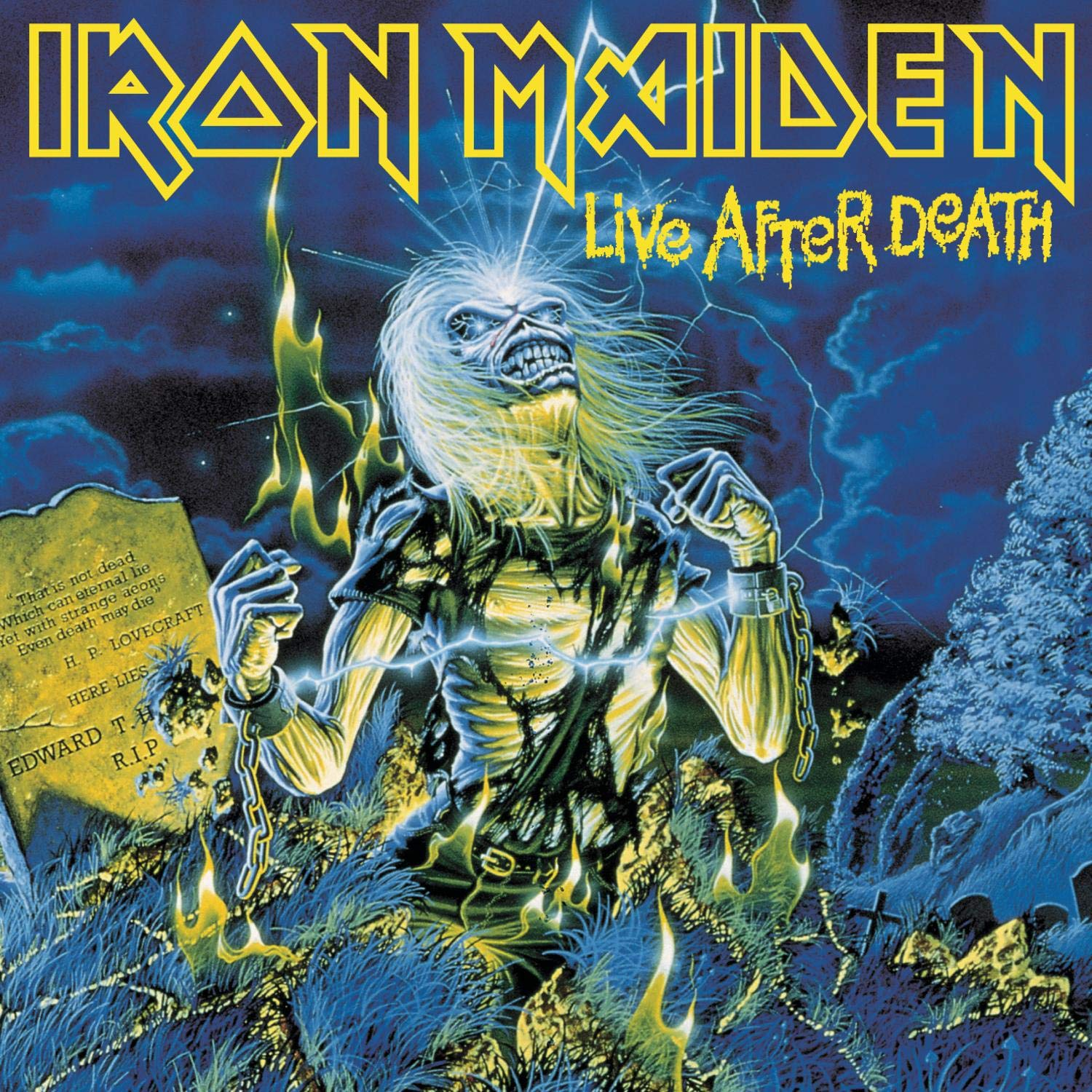 Iron Maiden - CD LIVE AFTER DEATH