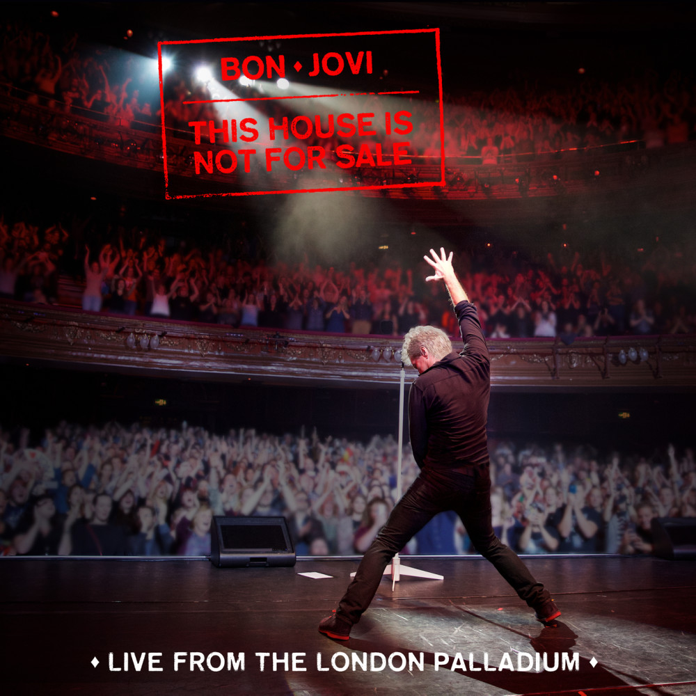 Bon Jovi - CD THIS HOUSE IS NOT FOR SALE - LIve from London Palladium