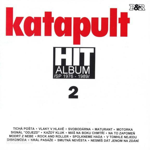 KATAPULT - Kazeta HIT ALBUM 2 (SP 1976-1989)
