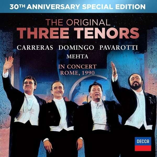 Luciano Pavarotti - DVD IMPOSSIBLE DREAM-3 TENORI