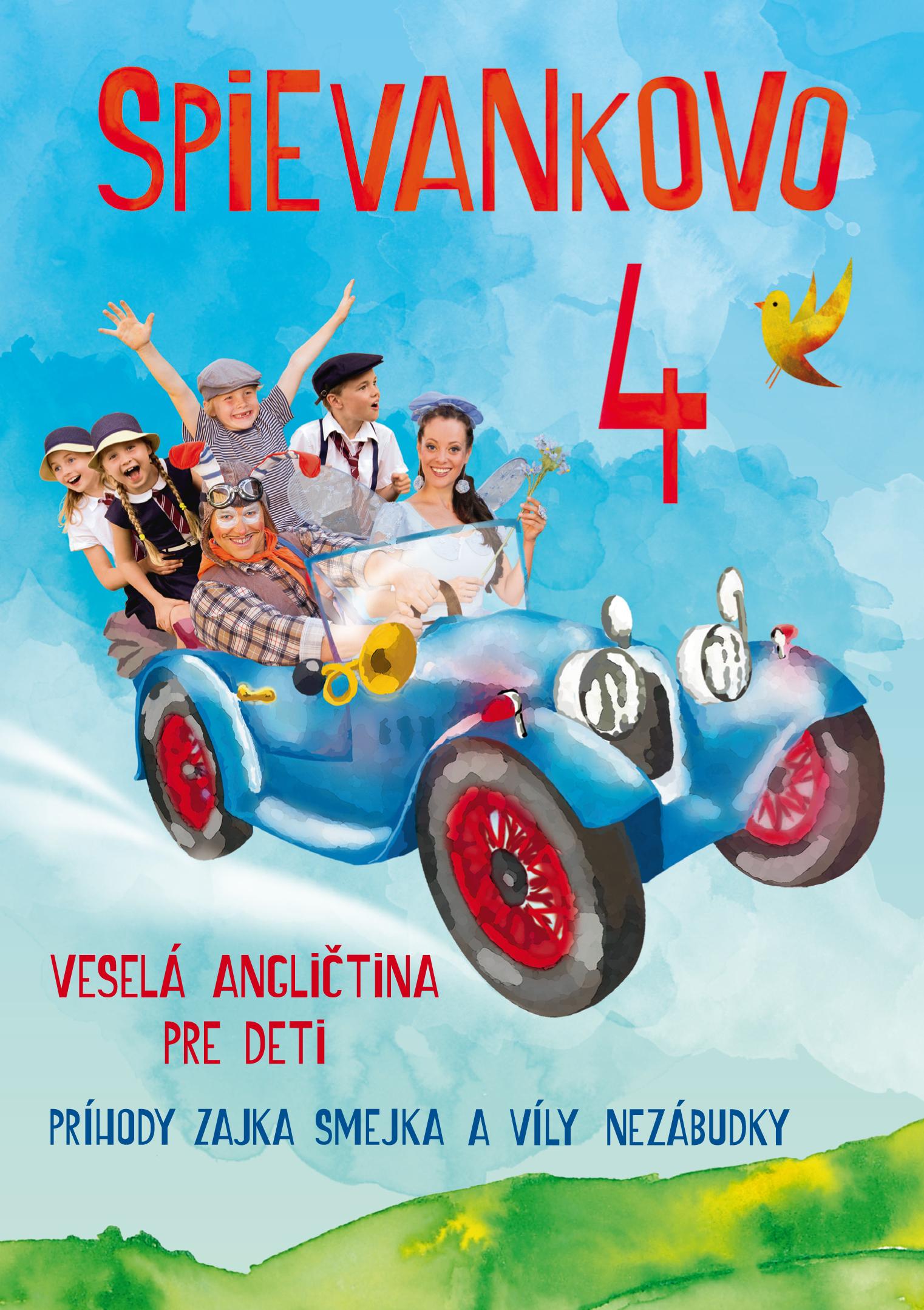Mária Podhradská a Richard Čanaky - DVD SPIEVANKOVO 4 VESELA ANGL. PRE DETI