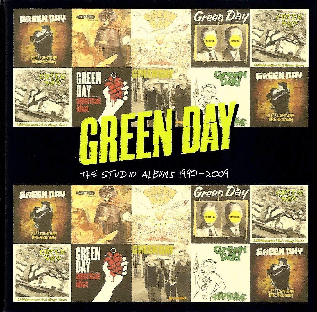 Green Day - CD STUDIO ALBUMS 1990-2009