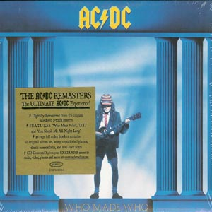 AC/DC - CD Who Made Who