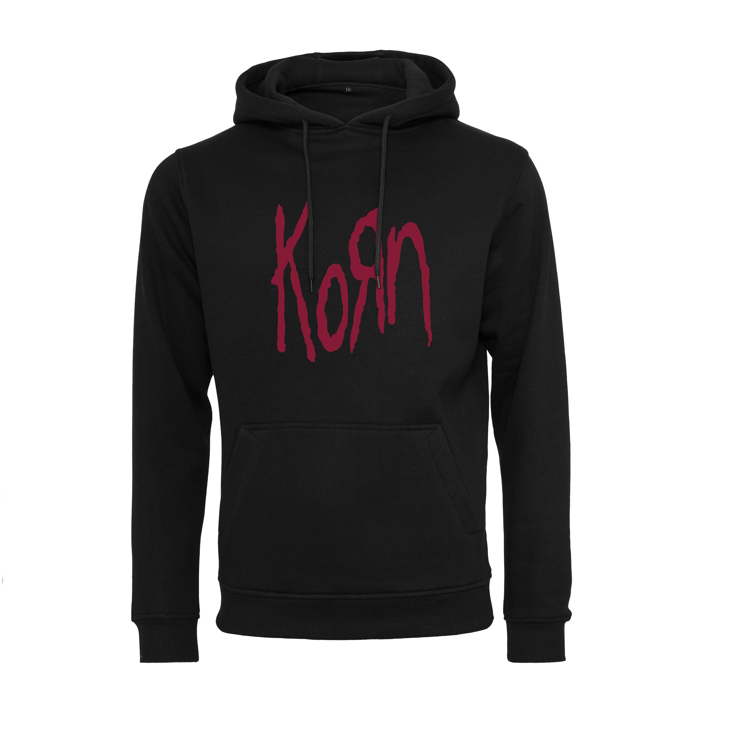 Korn - Mikina Logo Hoody - Muž, Čierna, XS