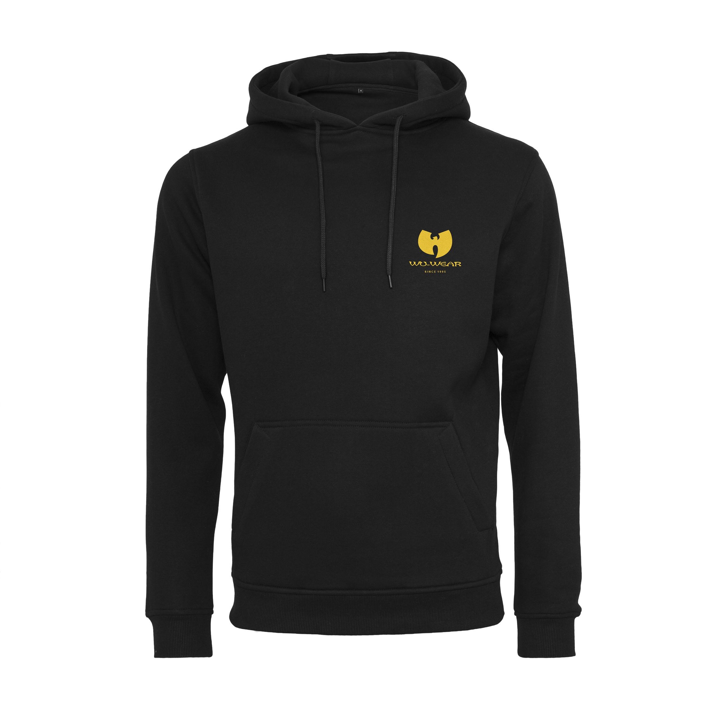 Wu-Tang Clan - Mikina Small Logo Hoody - Muž, Čierna, XXL