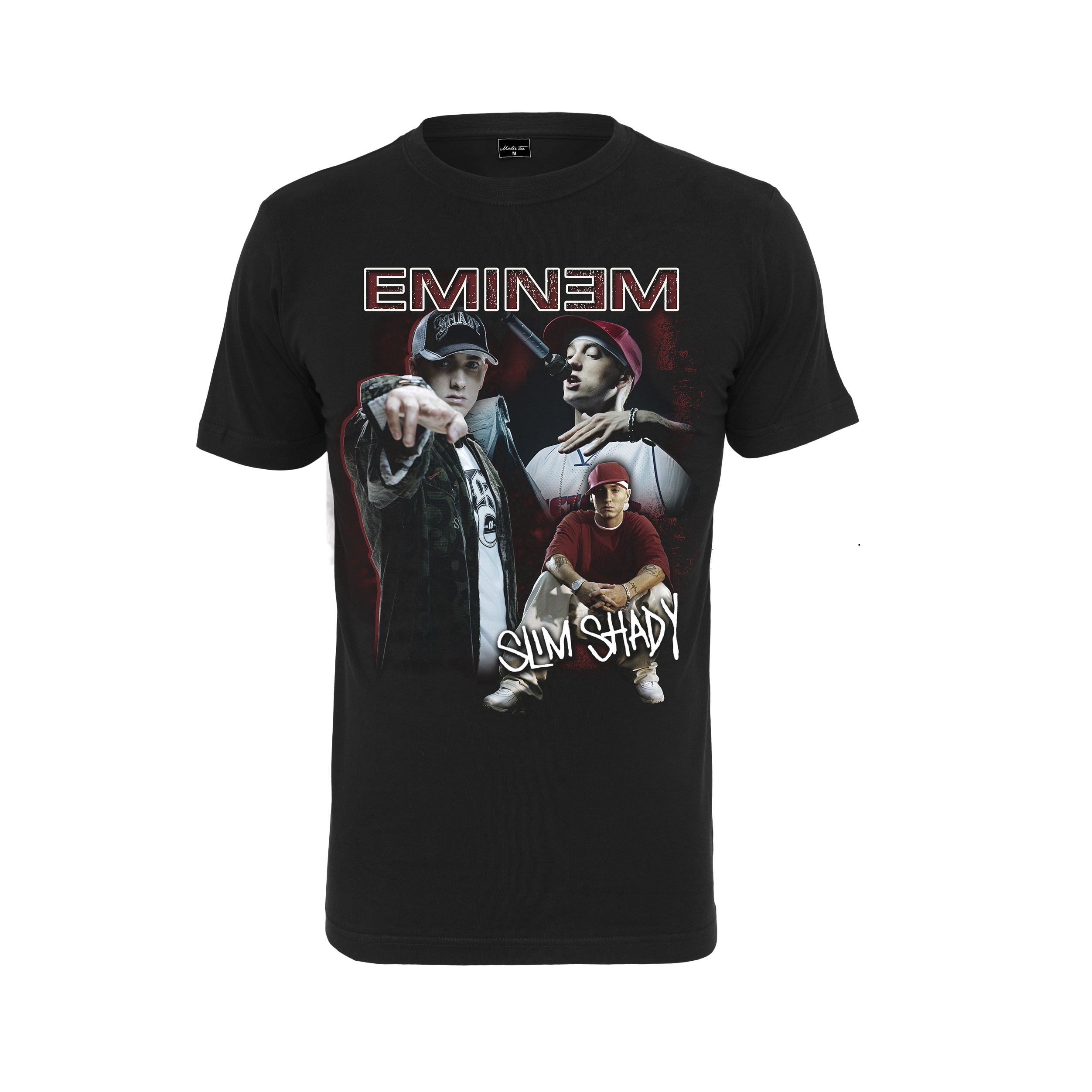 Eminem - Tričko Slim Shady Tee - Muž, Čierna, XXL