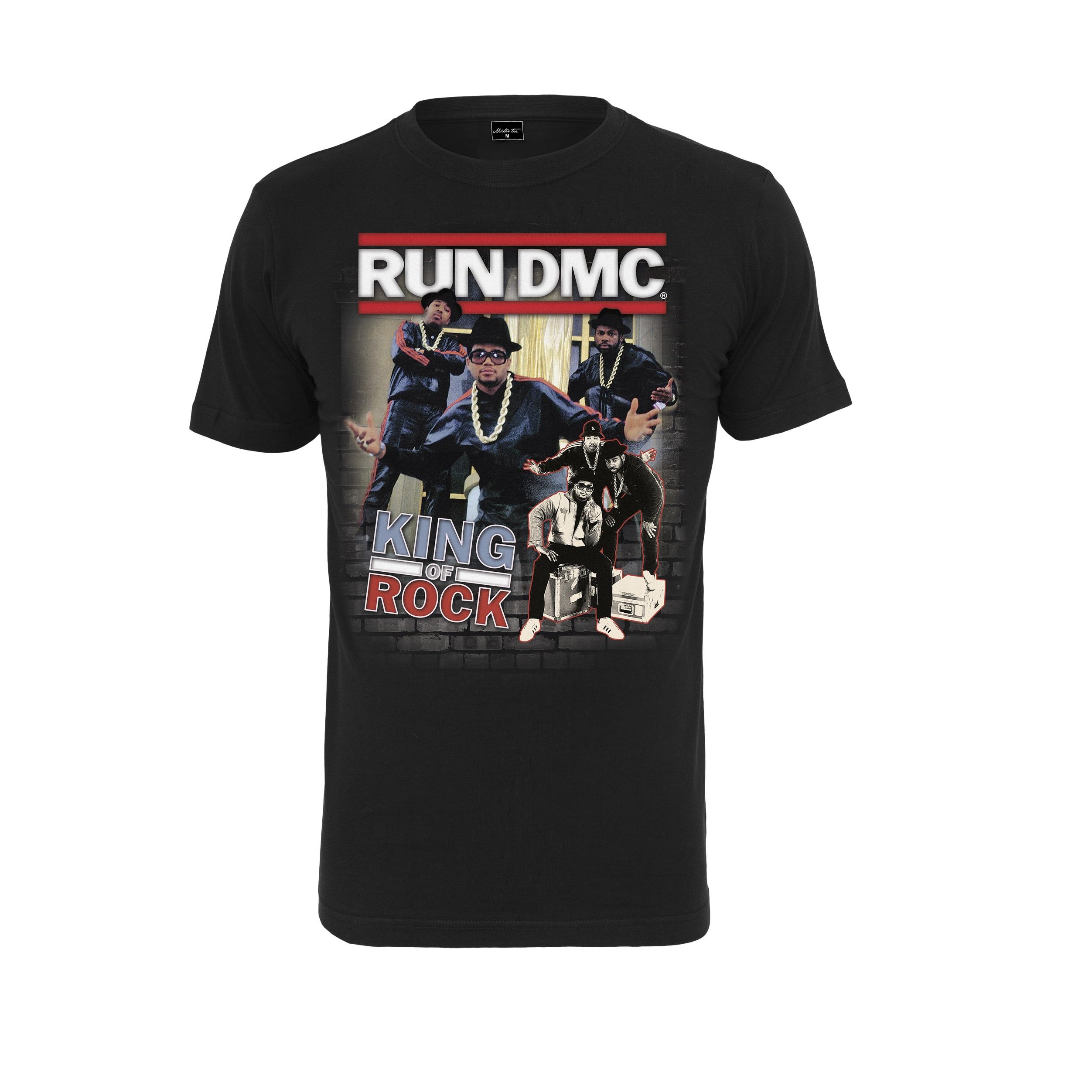 Run-DMC - Tričko King of rock tee - Muž, Čierna, S