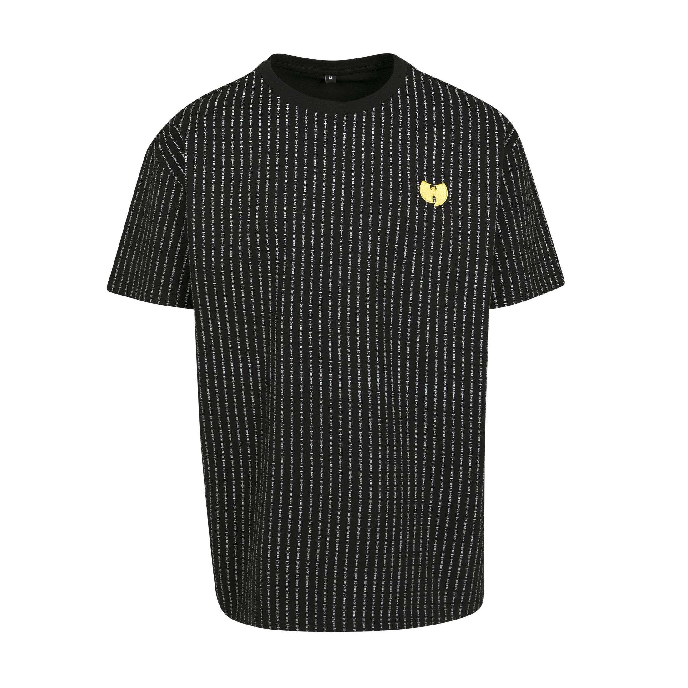 Wu-Tang Clan - Tričko Pin Stripe Tee - Muž, Čierna, S