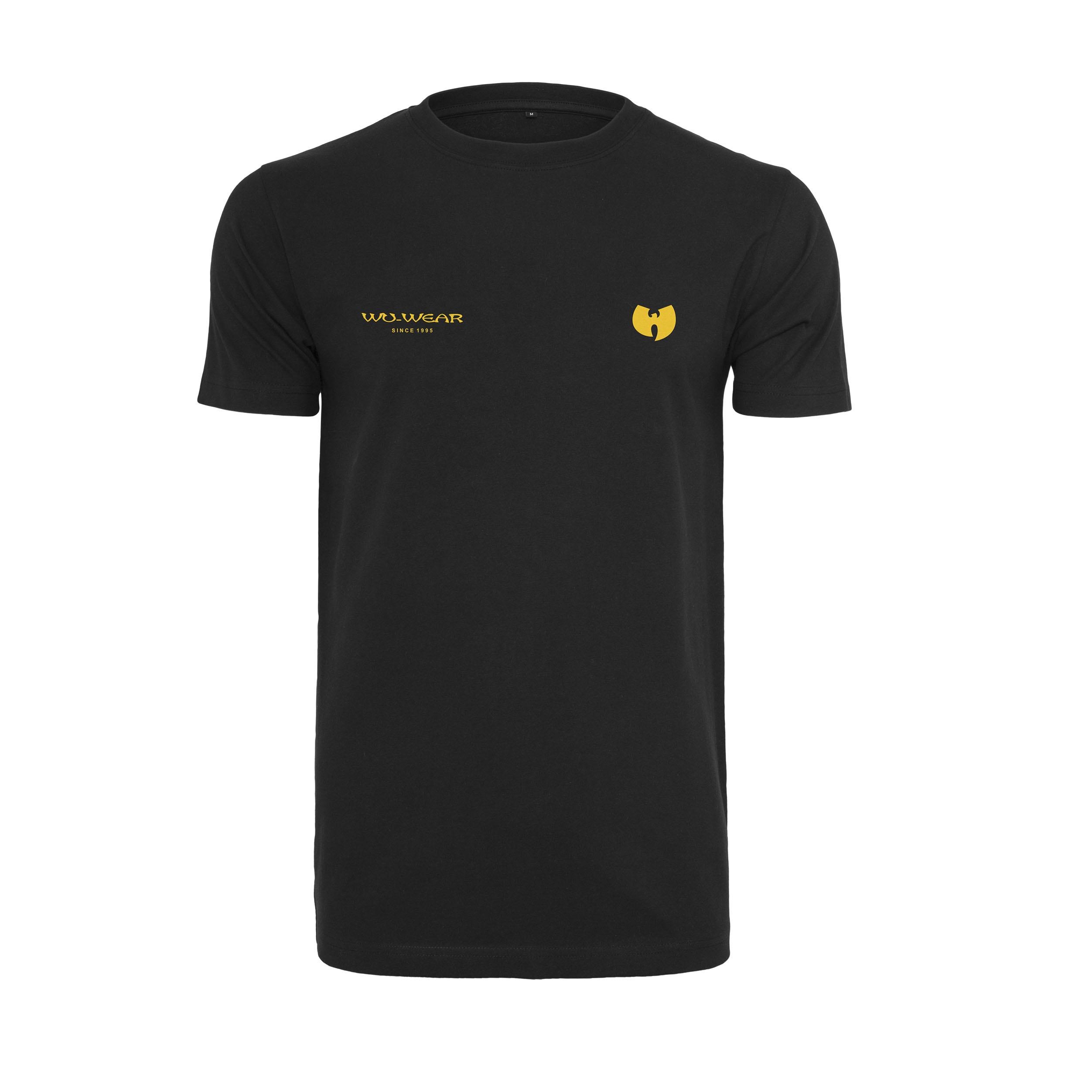 Wu-Tang Clan - Tričko Multiple Logo Tee - Muž, Čierna, S