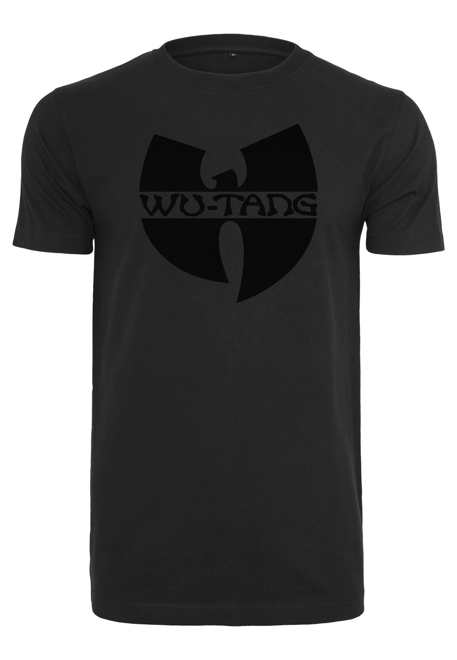 Wu-Tang Clan - Tričko Black Logo - Muž, Čierna, XXL