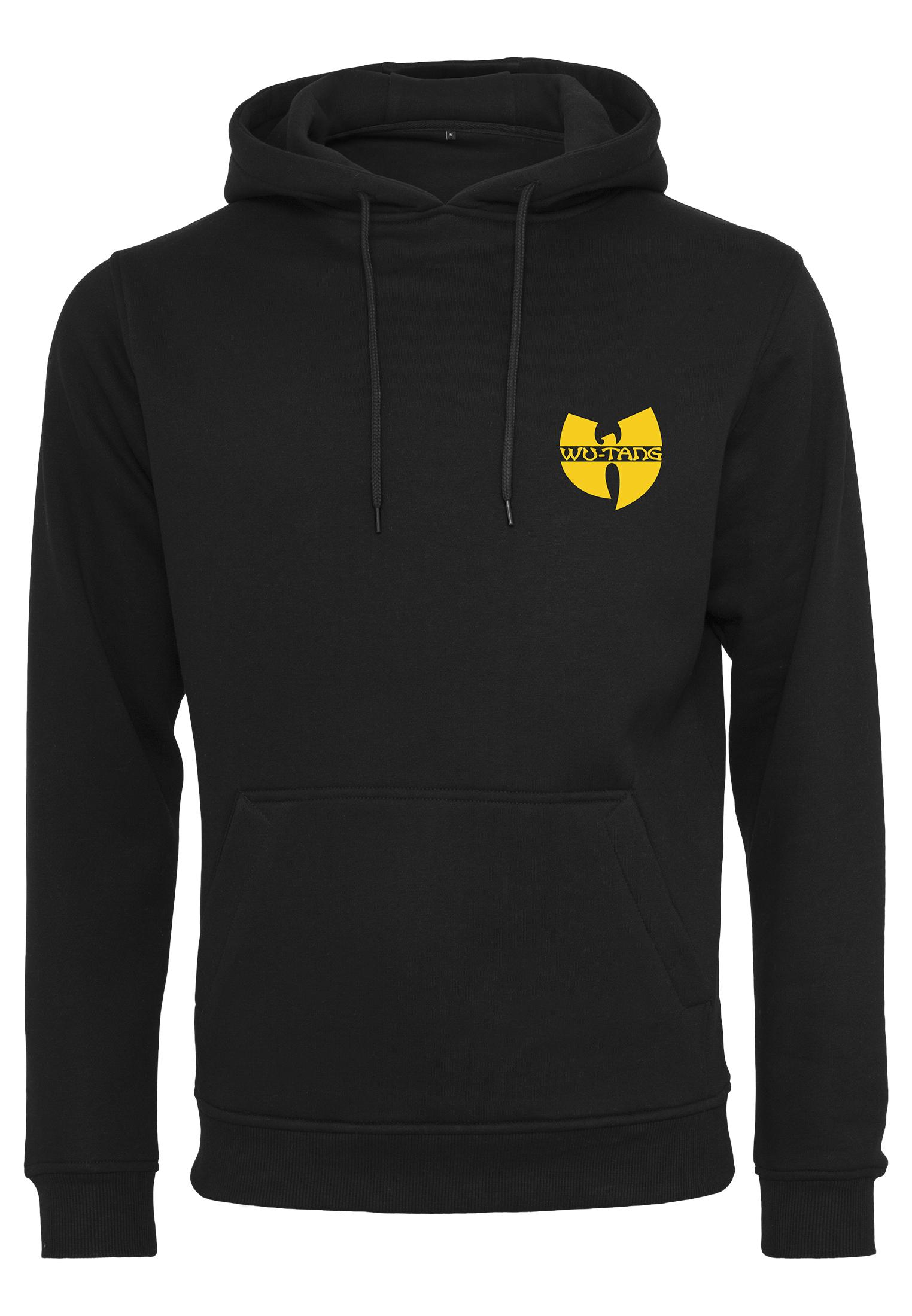 Wu-Tang Clan - Mikina Chest Logo - Muž, Čierna, XXL