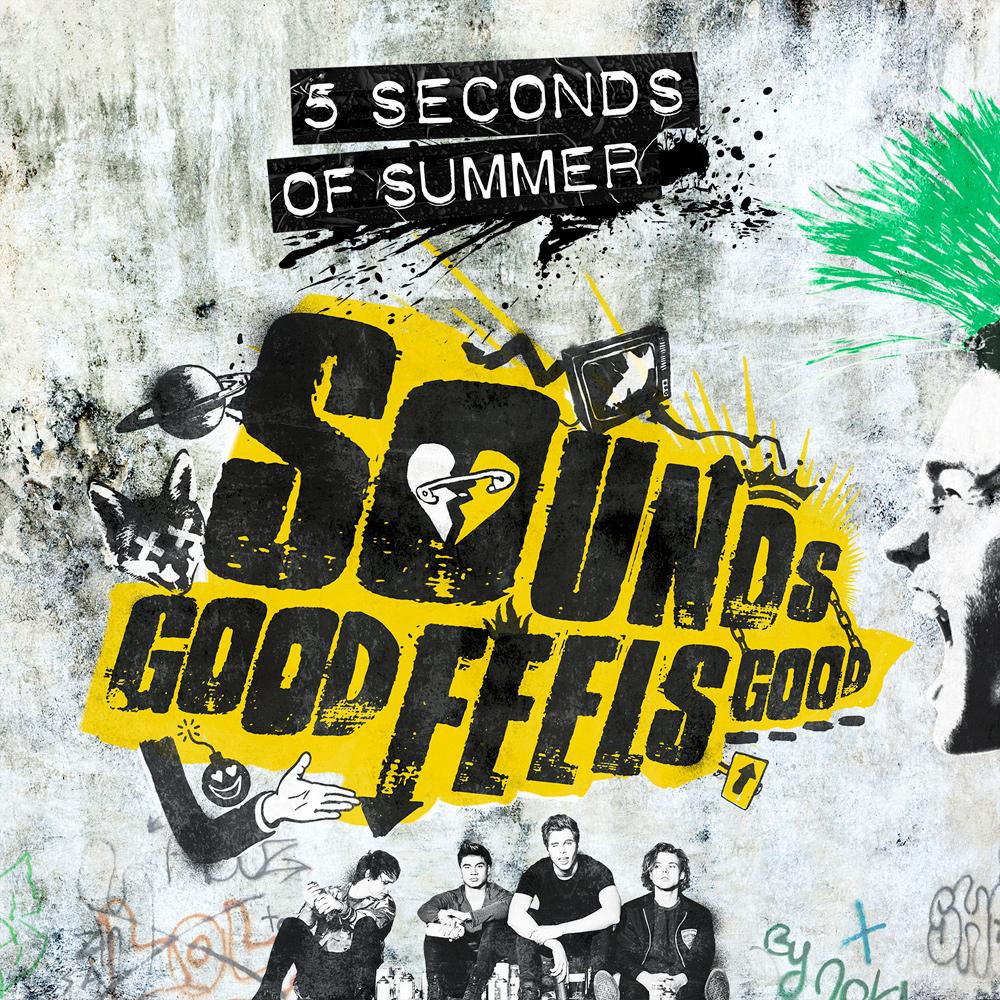 5 Seconds Of Summer - CD Sounds Good Feels Good