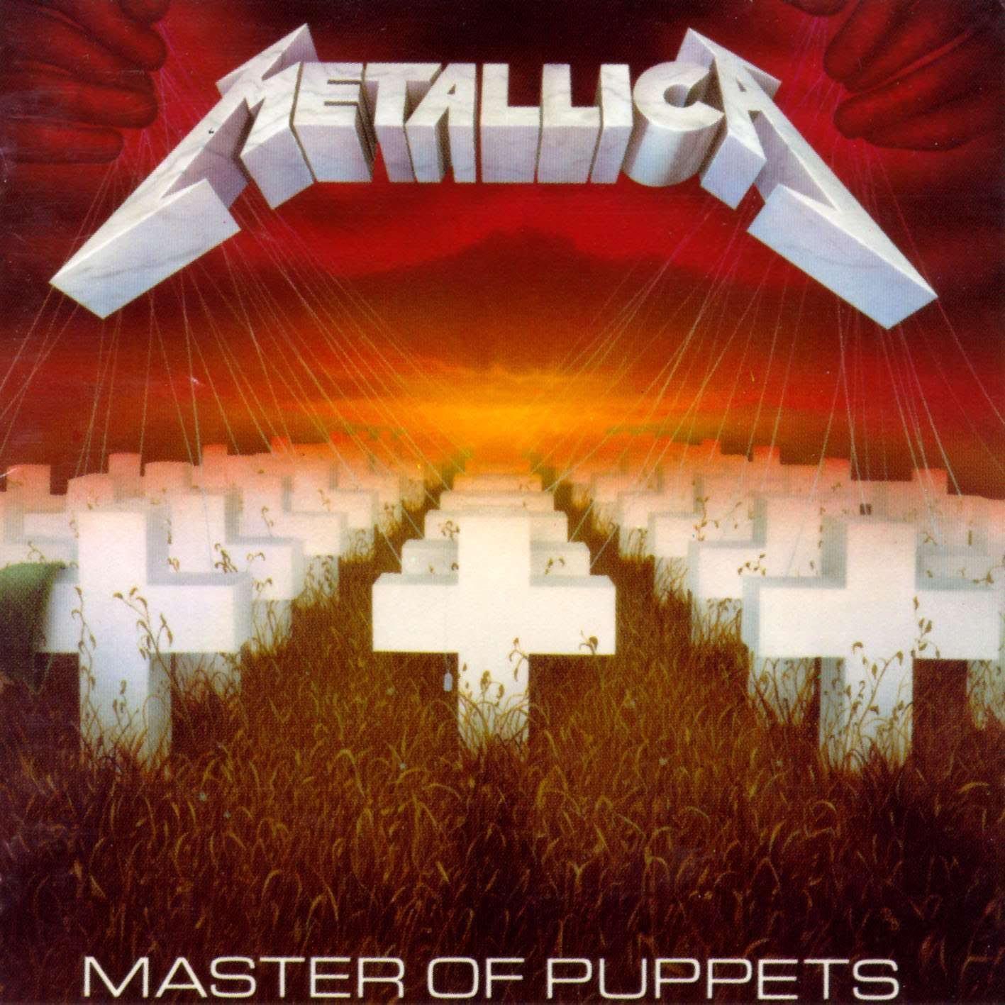 Metallica - CD Master Of Puppets