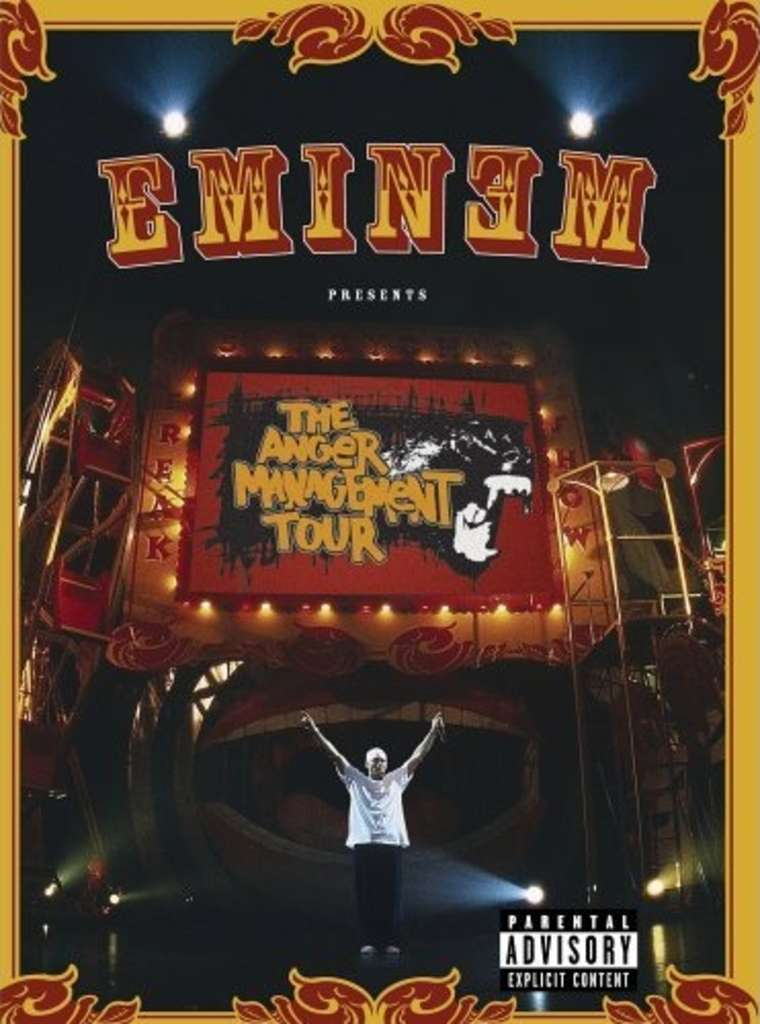 Eminem - DVD The Anger Management Tour