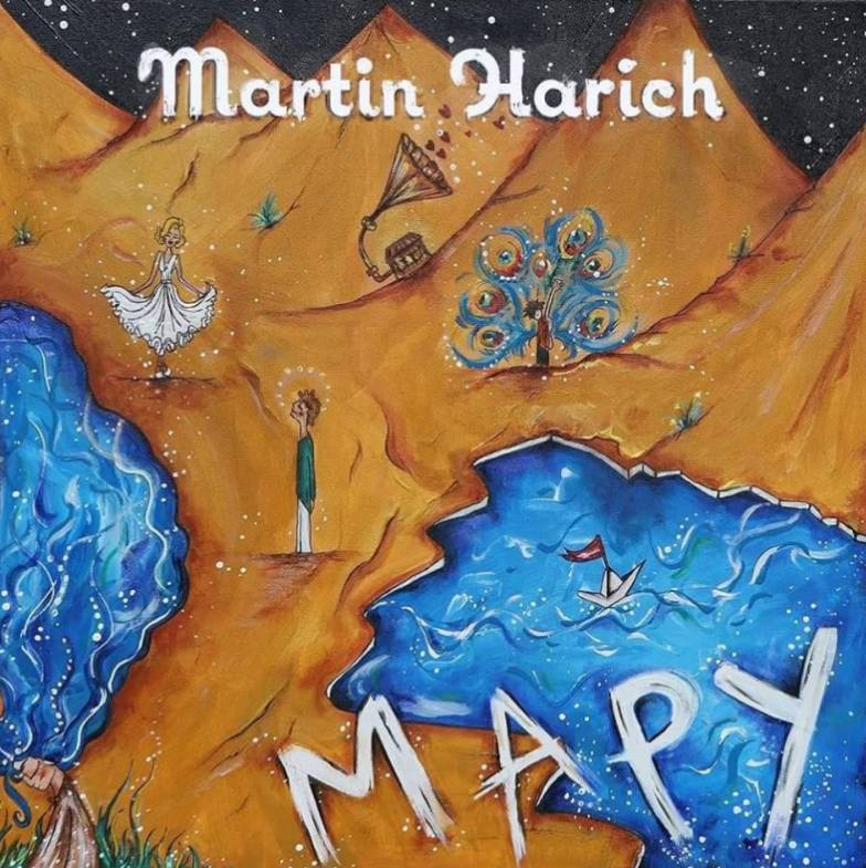 Martin Harich - CD Mapy