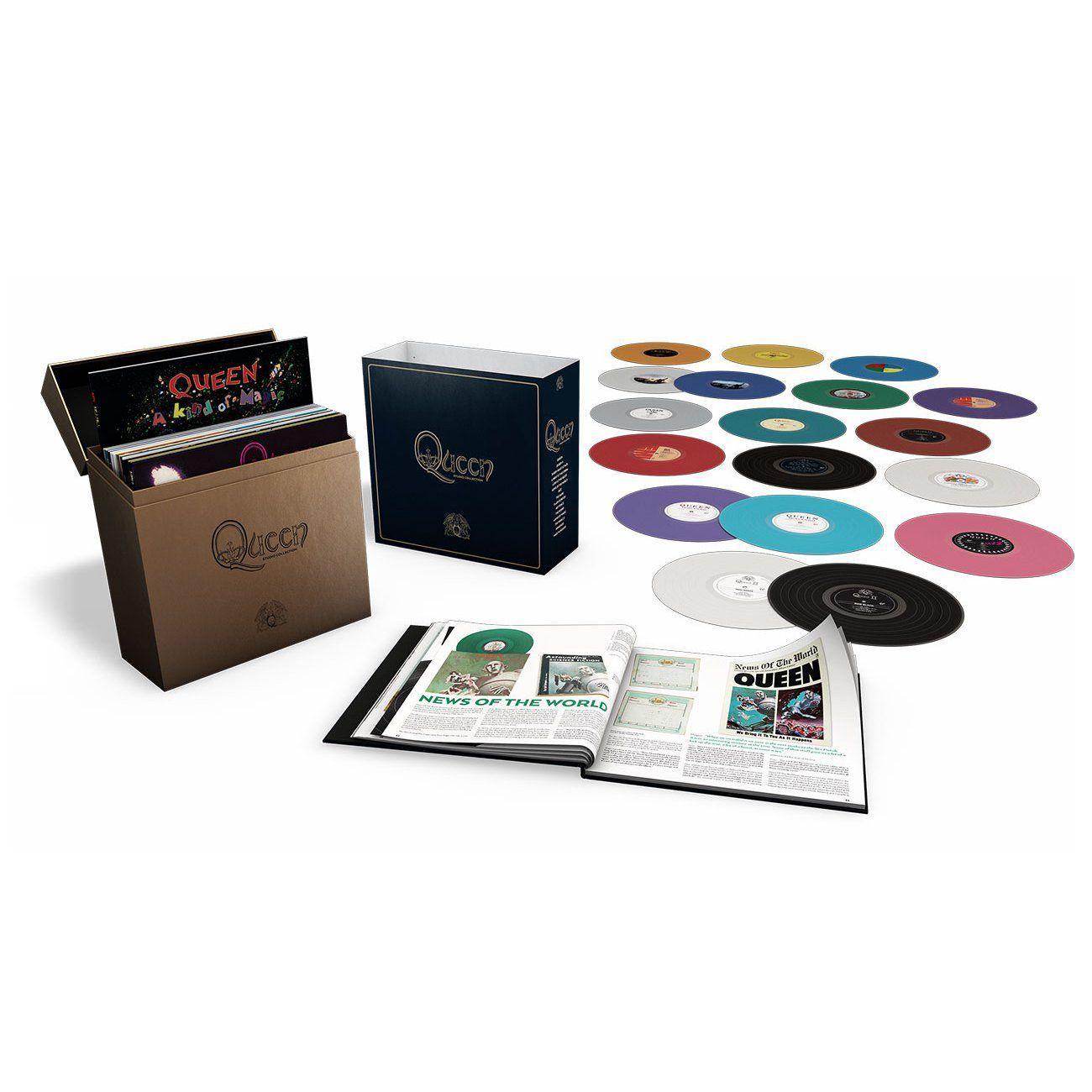 Queen - Vinyl Complete Studio Album 18LP