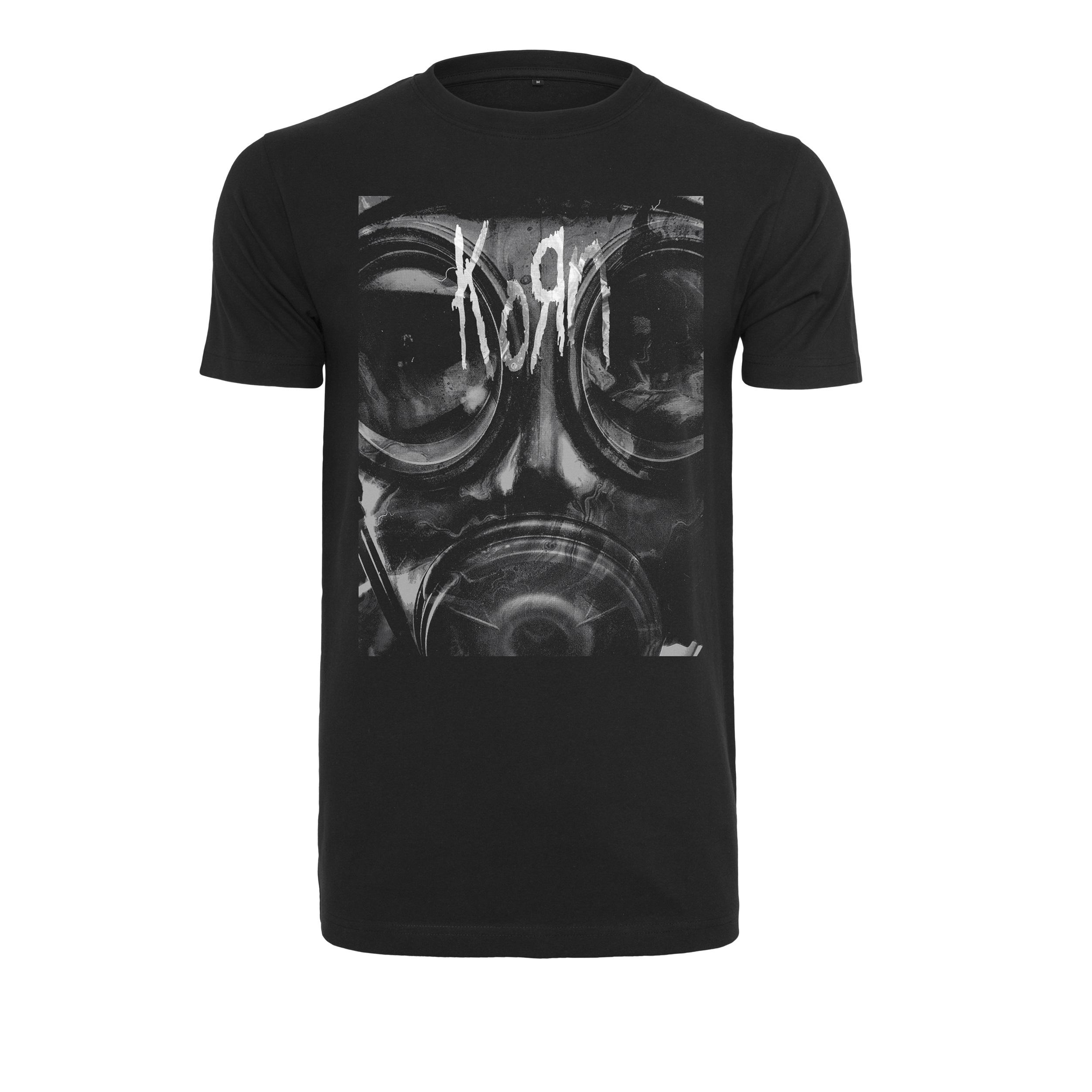 Korn - Tričko Asthma Tee - Muž, Čierna, S
