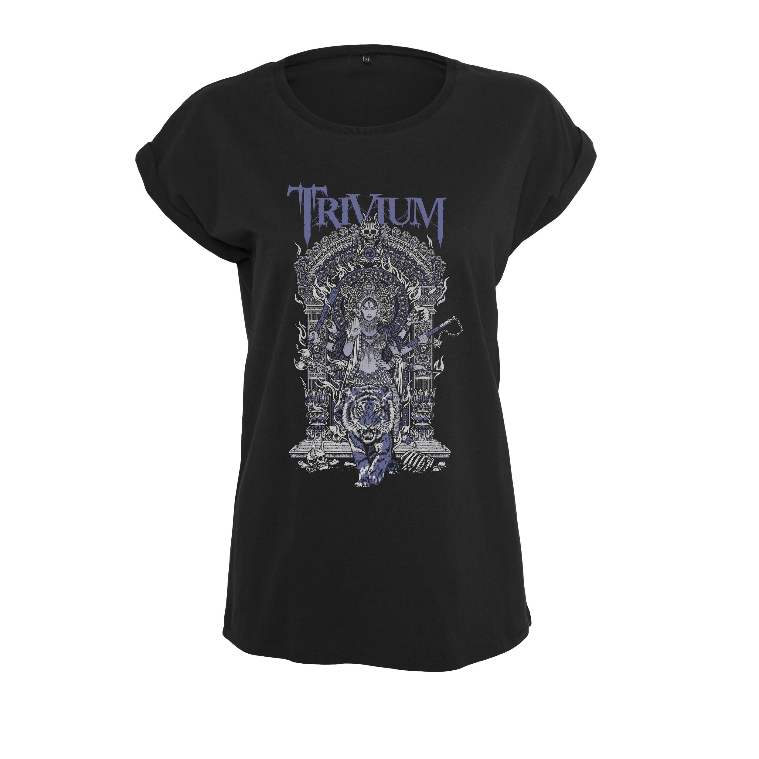 Trivium - Tričko Durga tee - Žena, Čierna, S