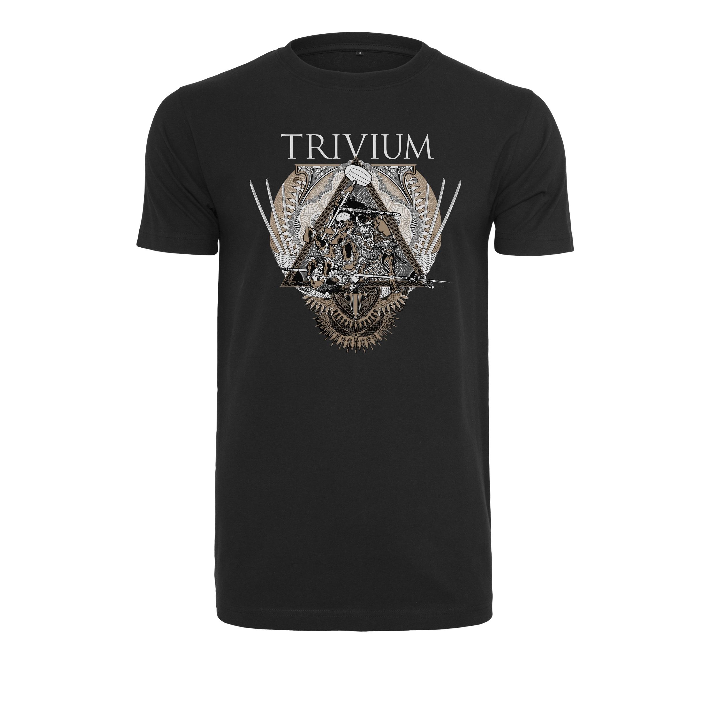 Trivium - Tričko Triangular war tee - Muž, Čierna, XXL