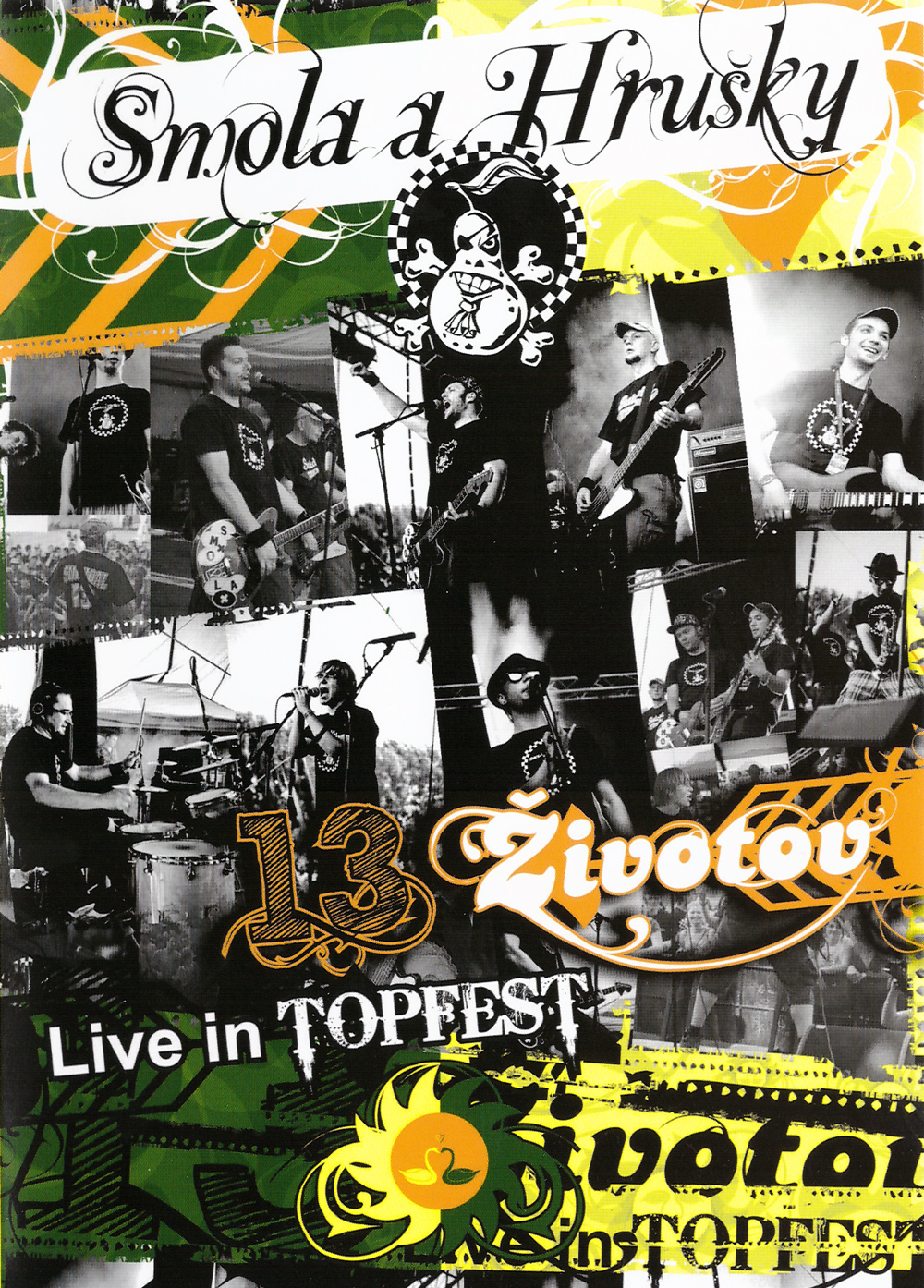 Smola a Hrušky - DVD 13 životov / Live in Topfest