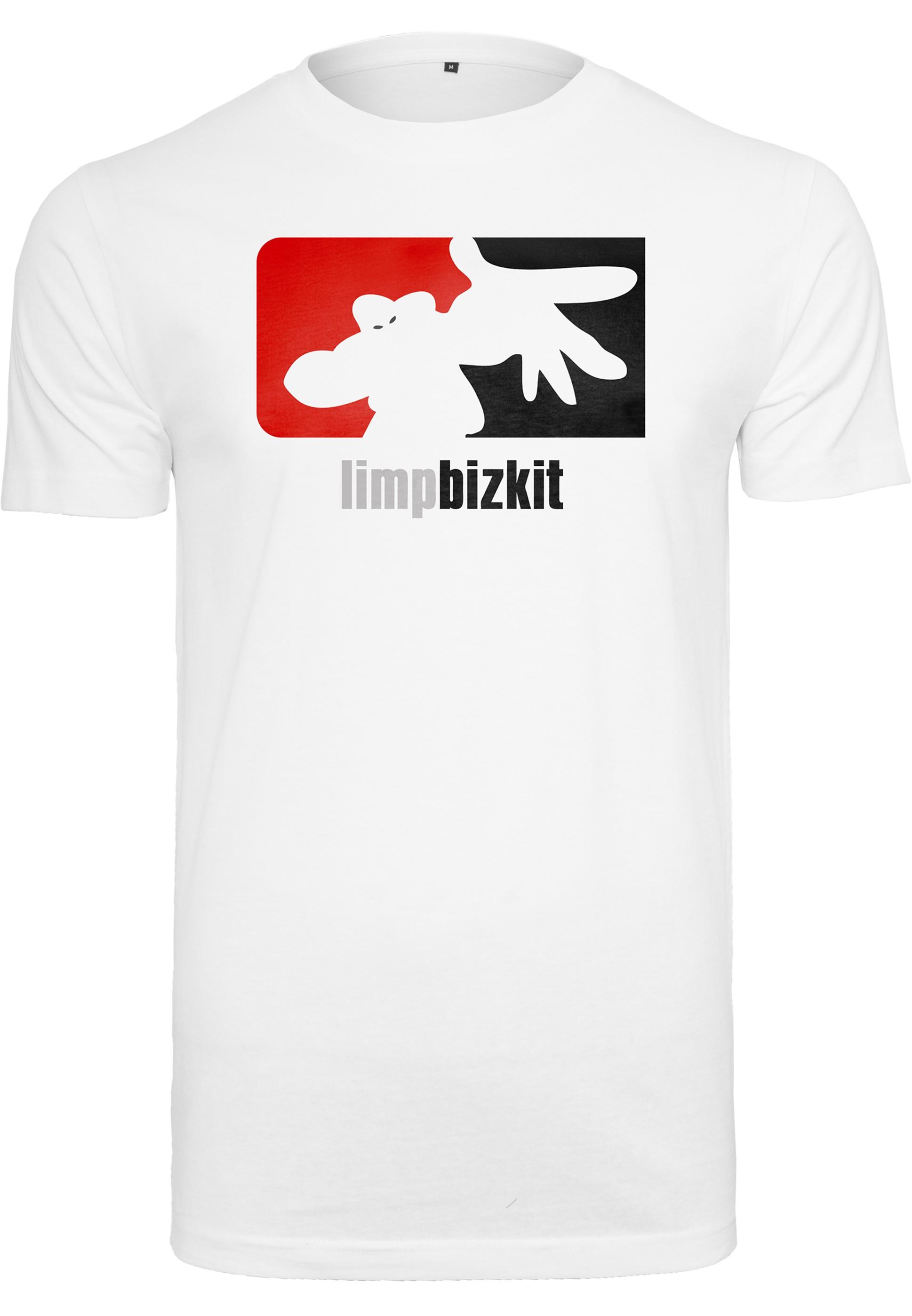 Limp Bizkit - Tričko Big Logo - Muž, Biela, S