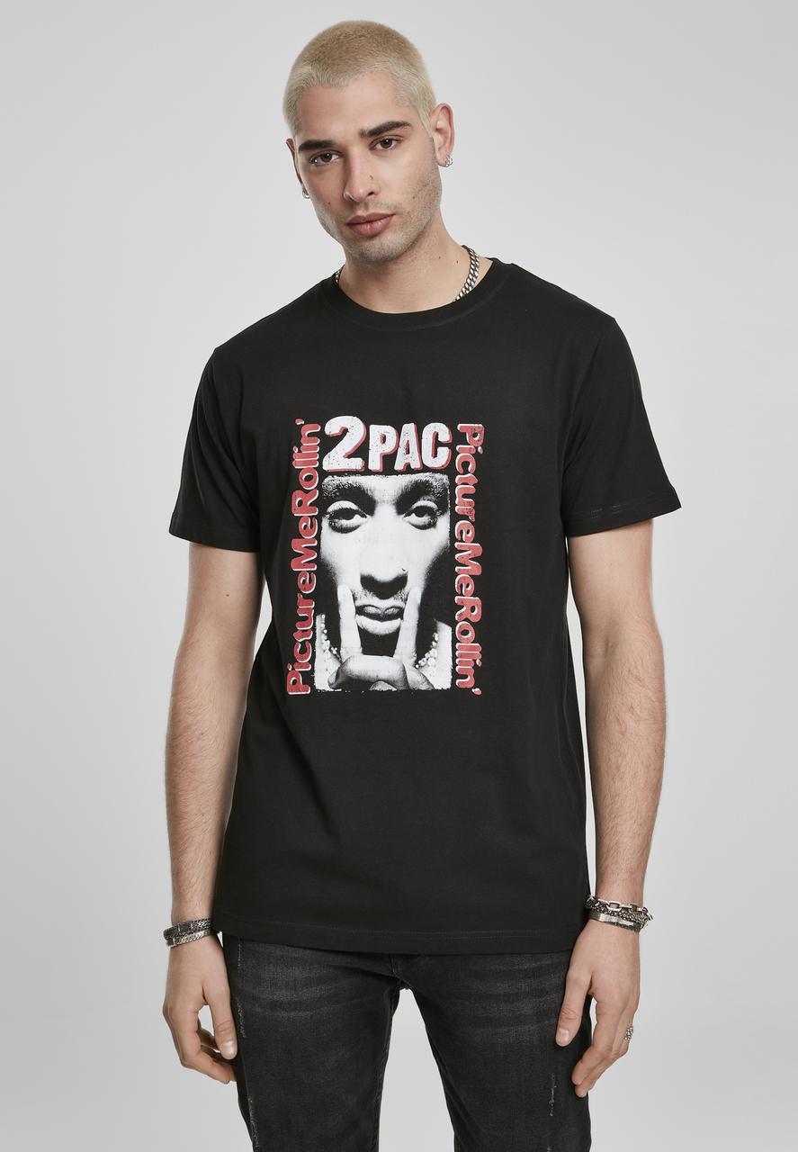2Pac - Tričko Boxed In Tee - Muž, Čierna, L