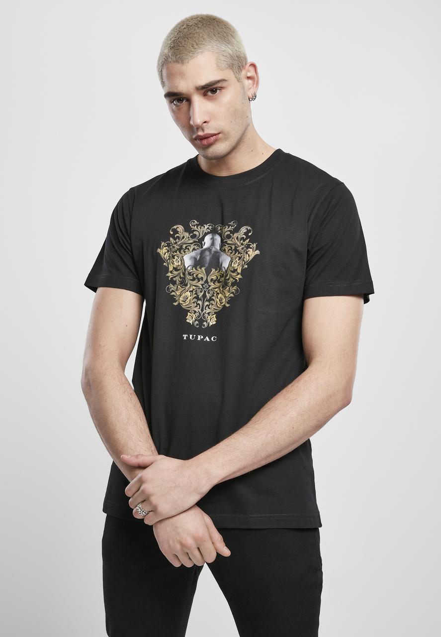 2Pac - Tričko Ornaments - Muž, Čierna, S
