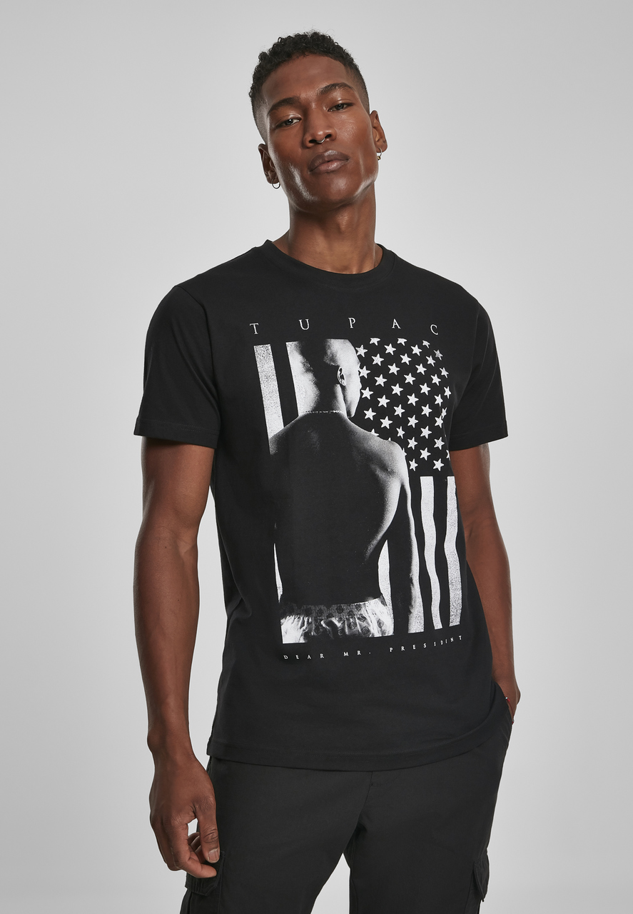 2Pac - Tričko President Tee - Muž, Čierna, L