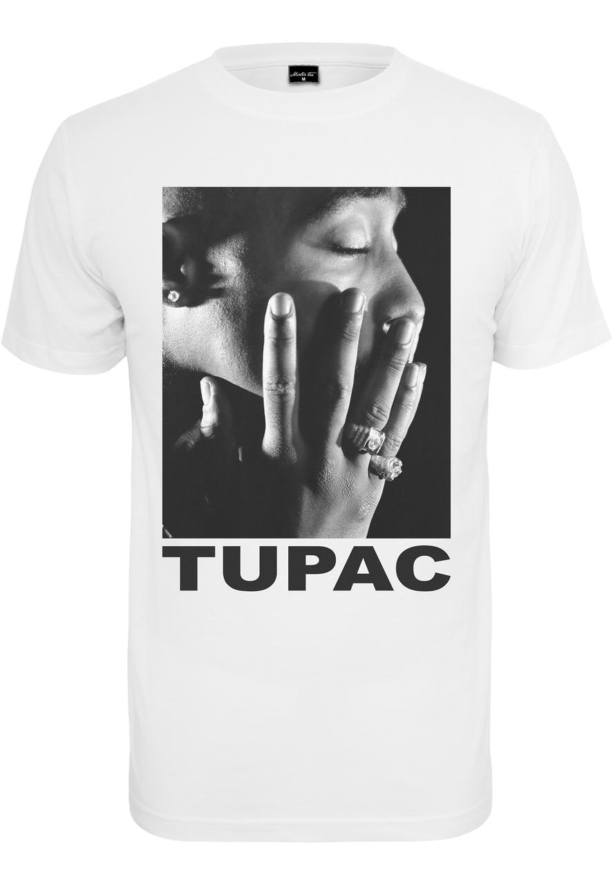 2Pac - Tričko Profile Tee - Muž, Biela, XXL