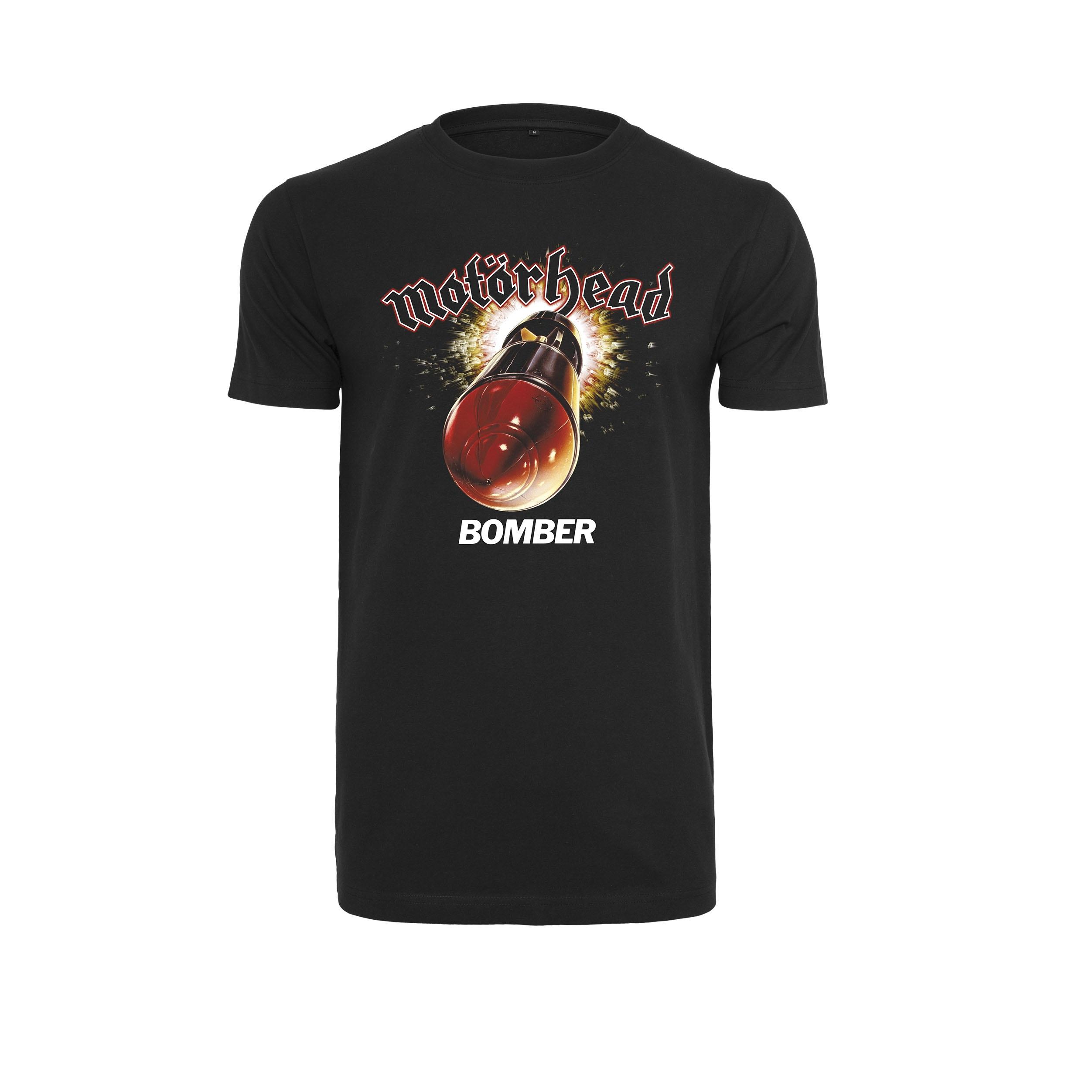 Motörhead - Tričko Bomber Tee - Muž, Čierna, XS
