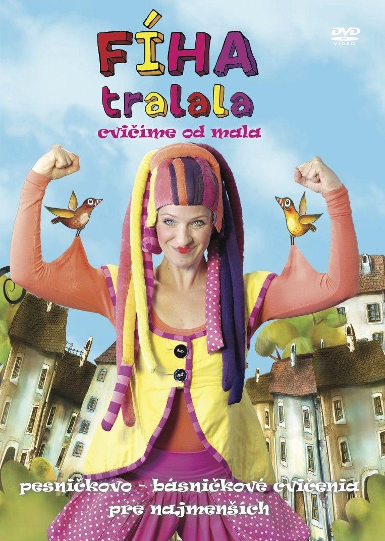 Fíha Tralala - DVD Cvičíme od mala