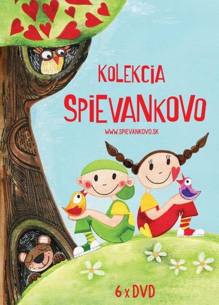 Mária Podhradská a Richard Čanaky - DVD Kolekcia Spievankovo (6 DVD)
