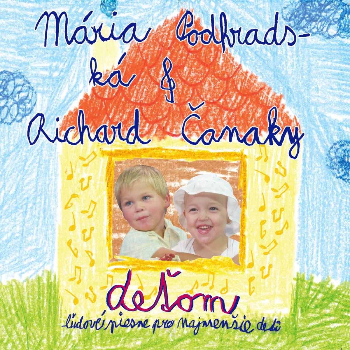 Mária Podhradská a Richard Čanaky - CD Deťom 1 - Ľudové piesne pre najmenšie deti
