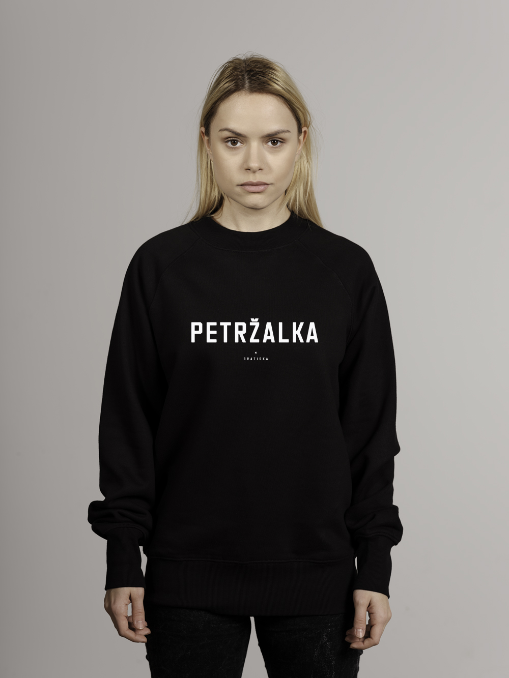 Petržalka, unisex, čierna