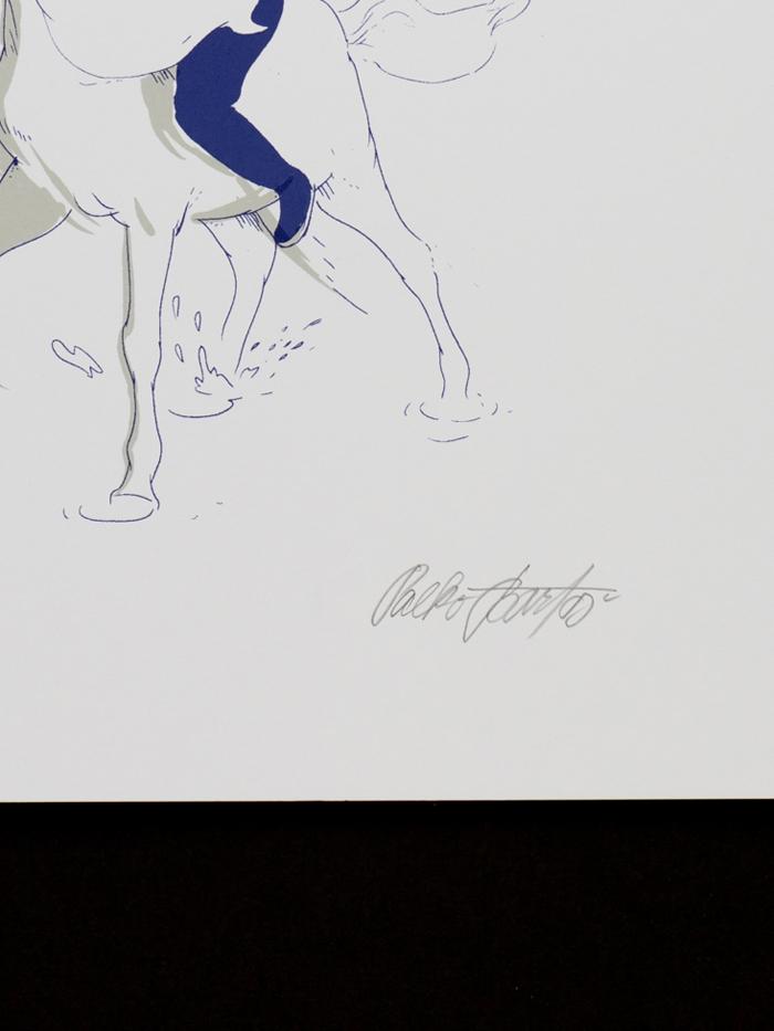 Robert Unicorn Color A3