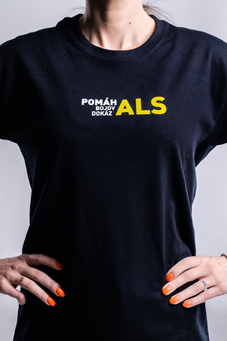 Tričko Charitativní triko BOJ PROTI ALS