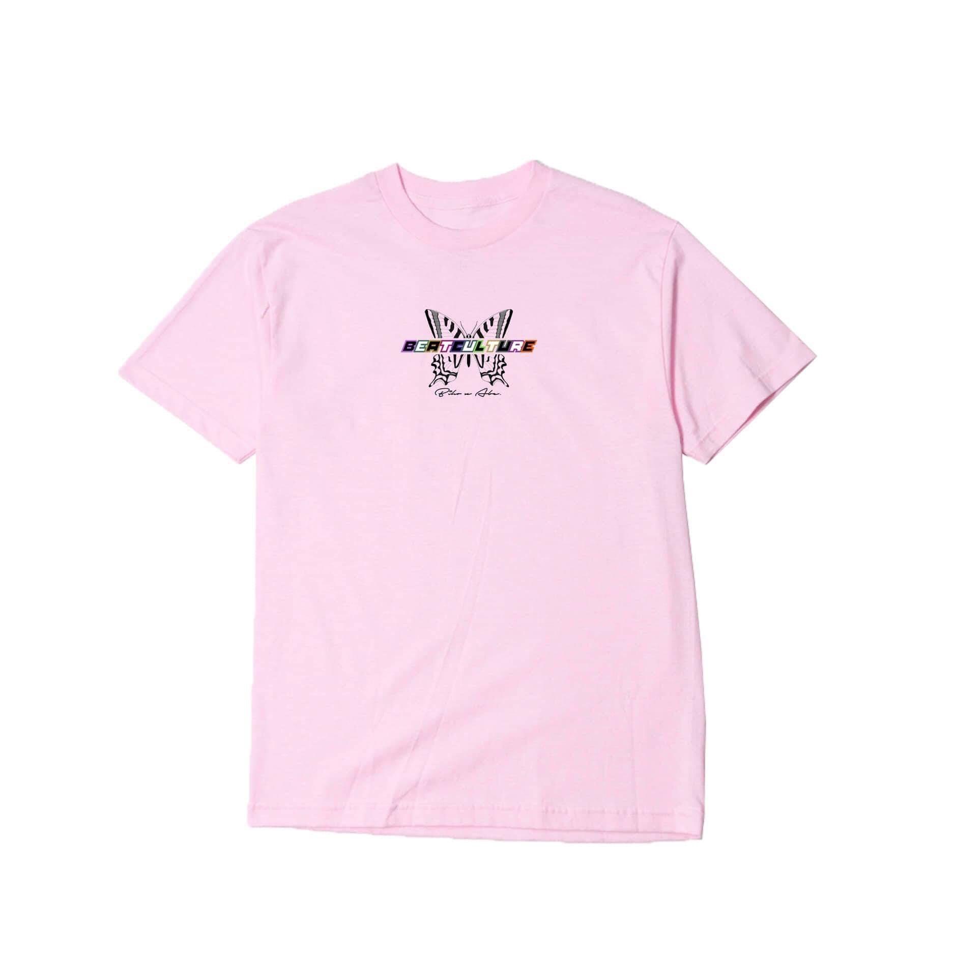 Abe - Tričko Beatculture - Muž, Baby Pink, XXL