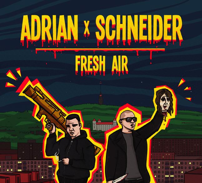 Adrian x Schneider - CD Fresh Air
