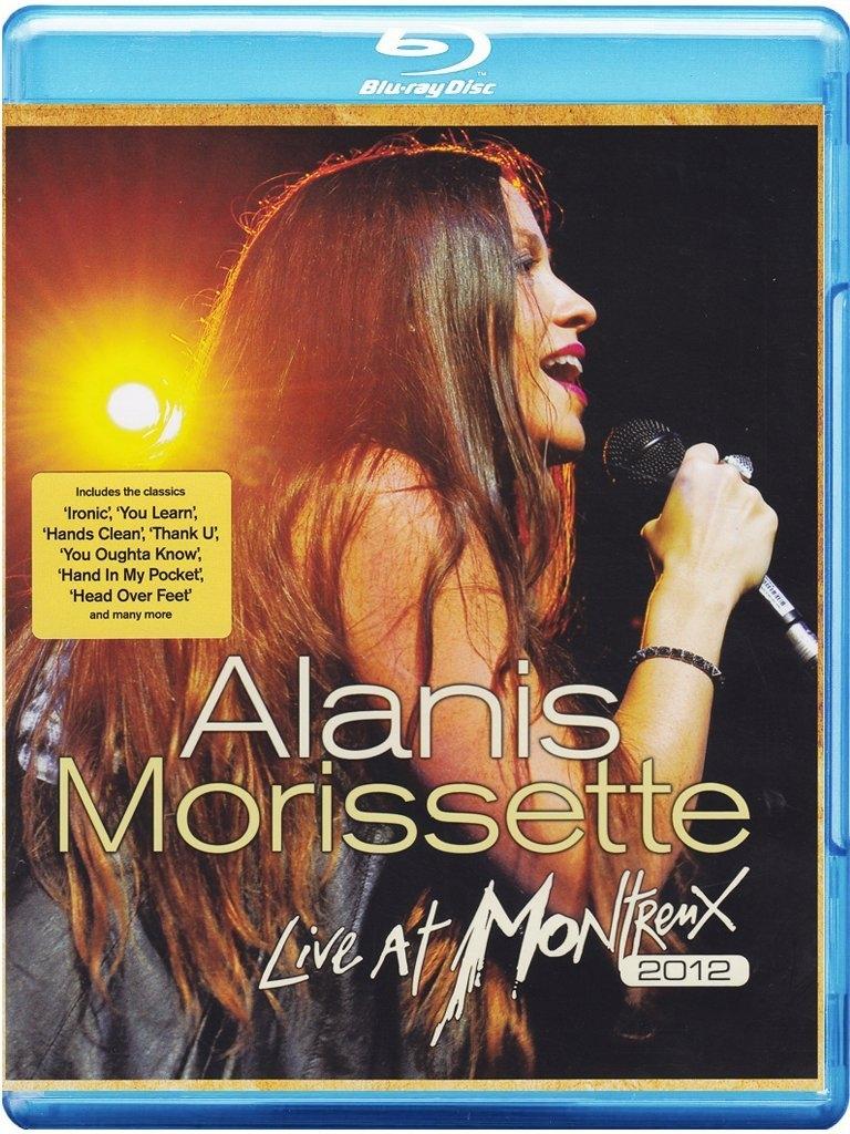 Alanis Morissette - Blu-ray LIVE AT MONTREUX 2012