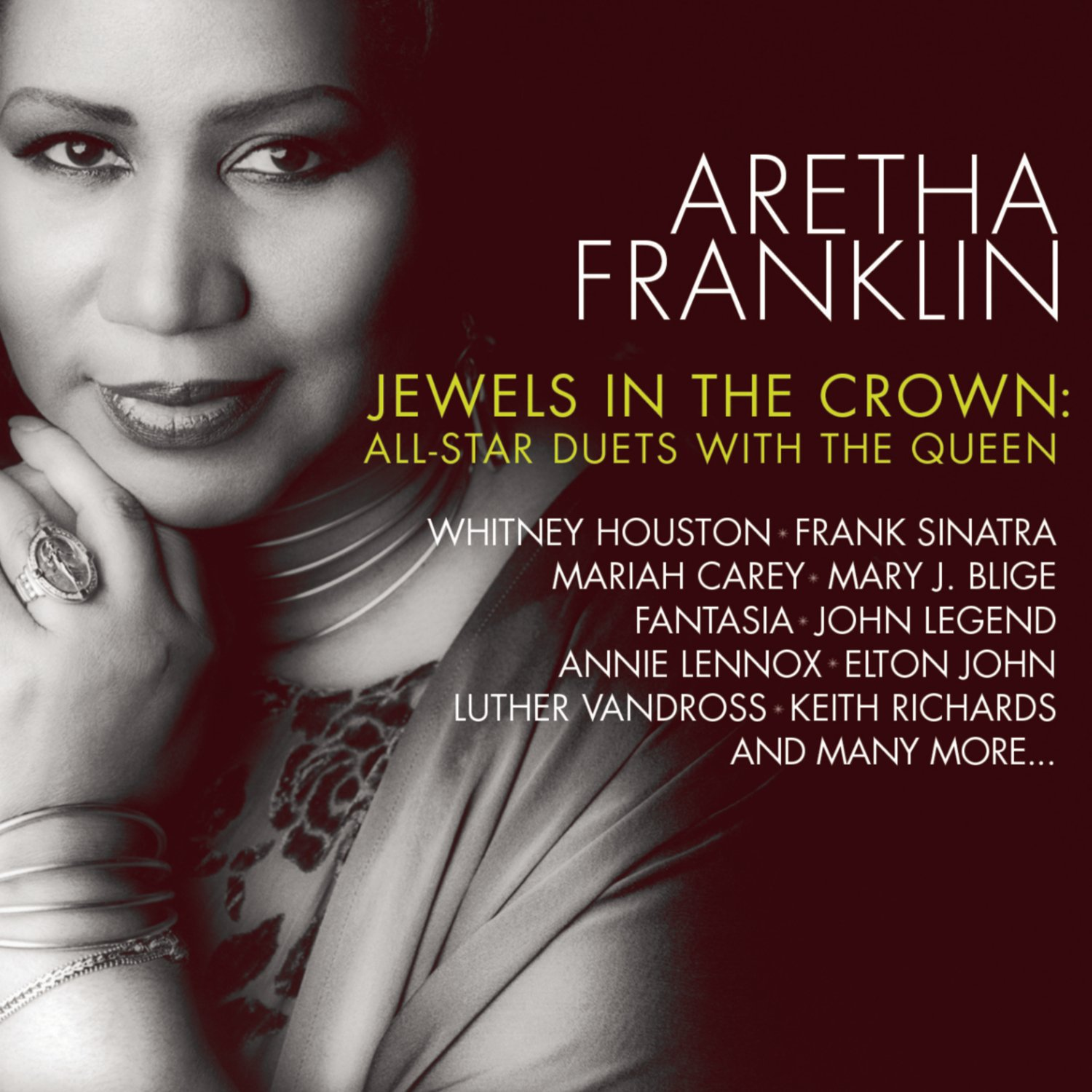 Aretha Franklin - CD Jewels in the Crown: All-Star Duets with the Queen