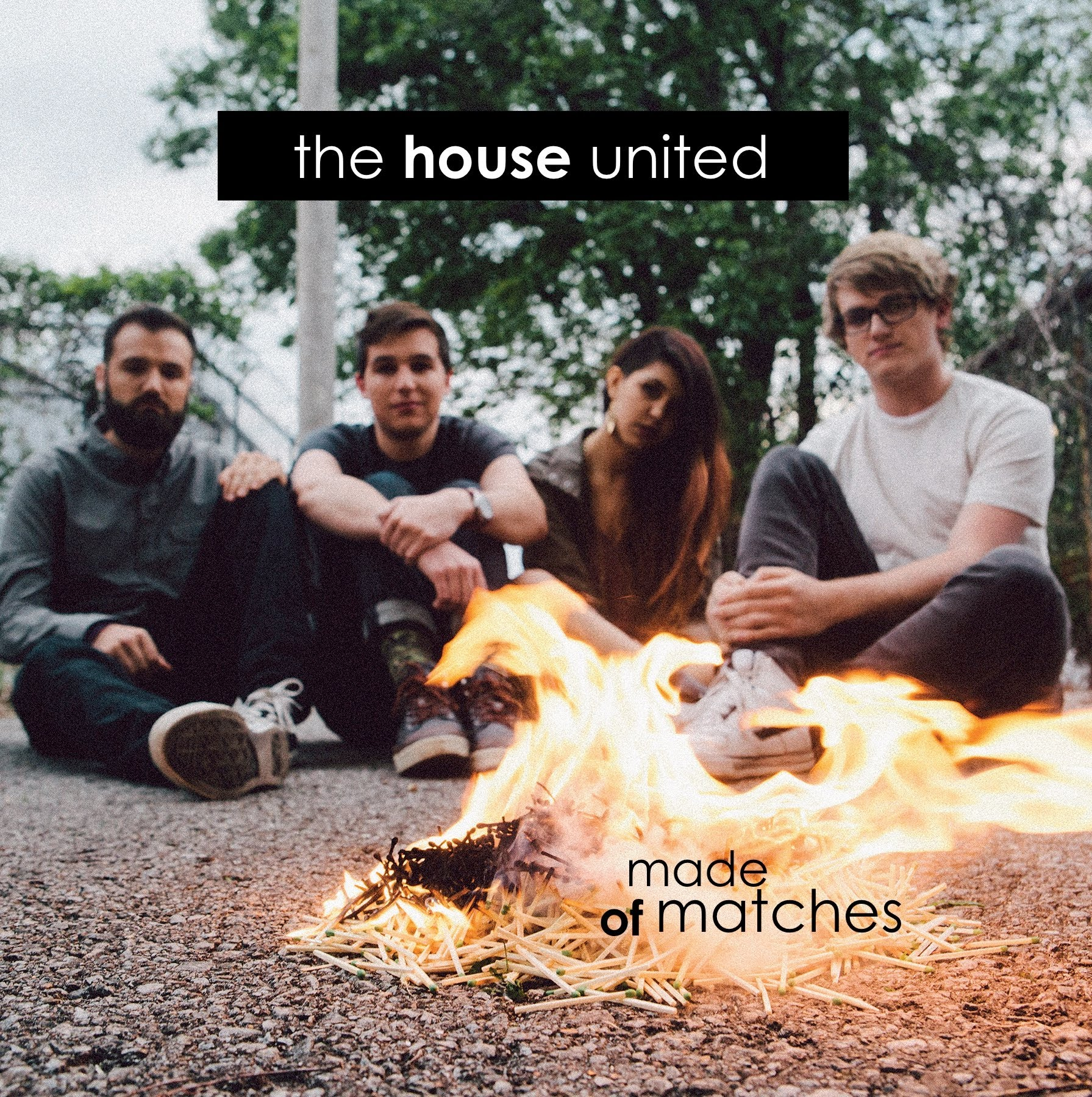 Carmel Paradise - CD The House United - Made of Matches
