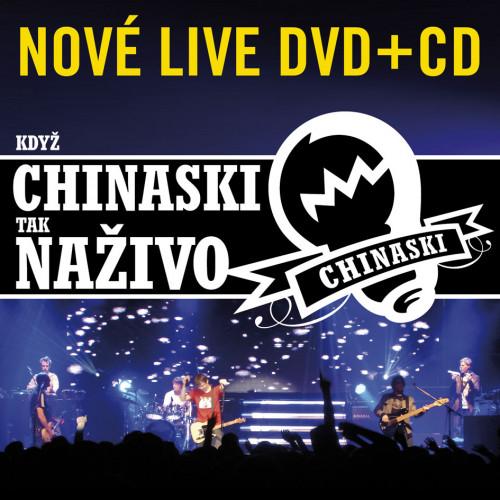 Chinaski - CD Když Chinaski tak naživo (CD+DVD)