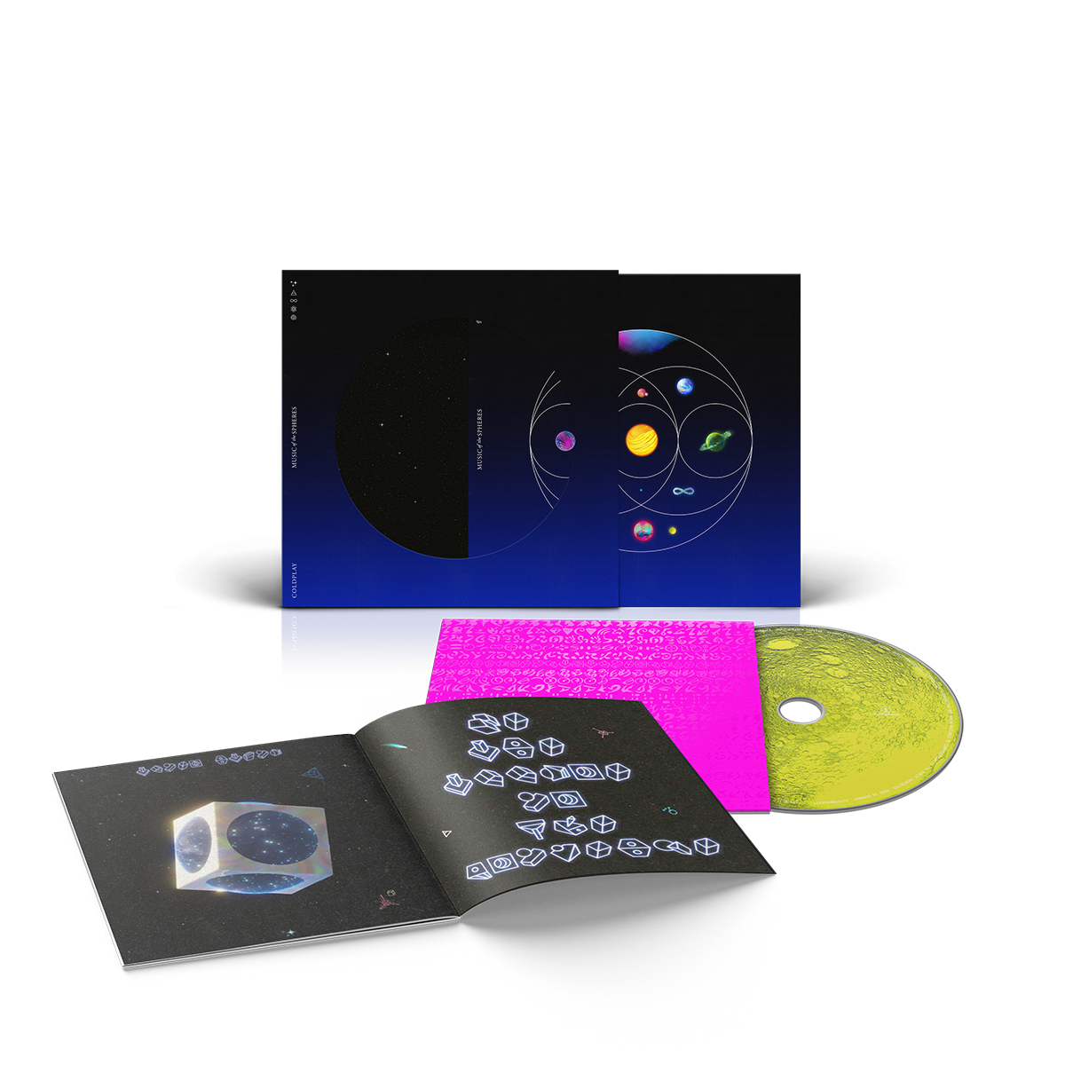 Coldplay - CD MUSIC OF THE SPHERES