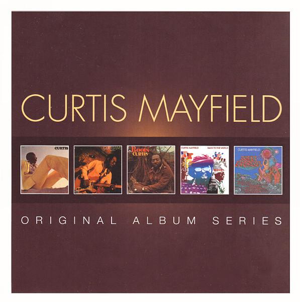 Curtis Mayfield - CD Original Album Series