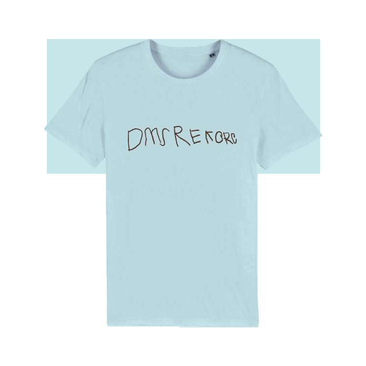 DMS - Tričko DMS Rekorc - Muž, Baby modrá, XXL