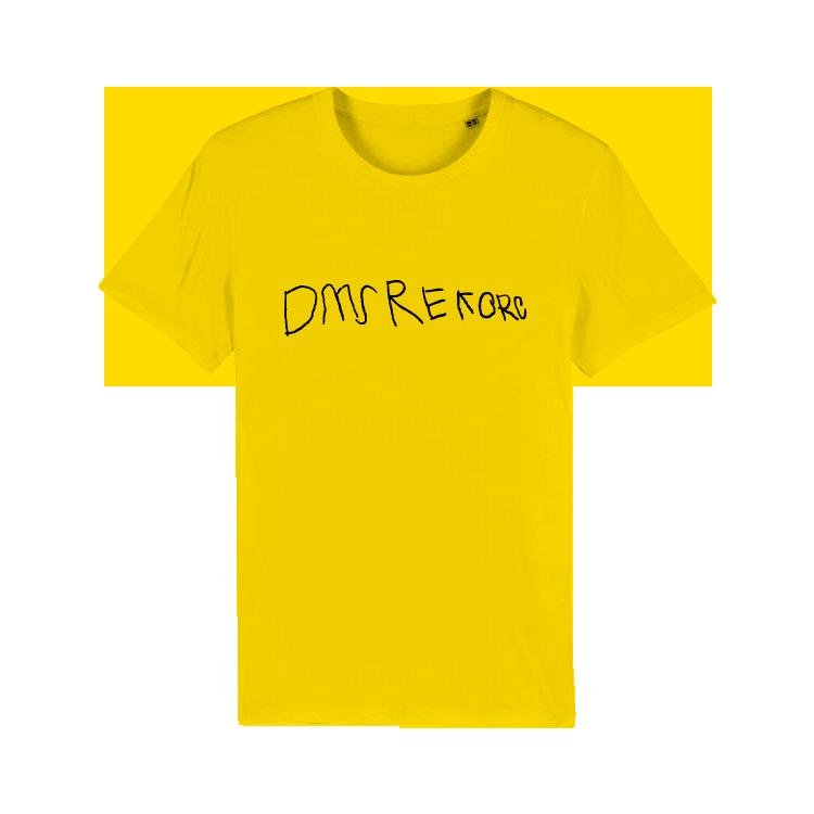 DMS - Tričko DMS Rekorc - Muž, Žltá, XXL