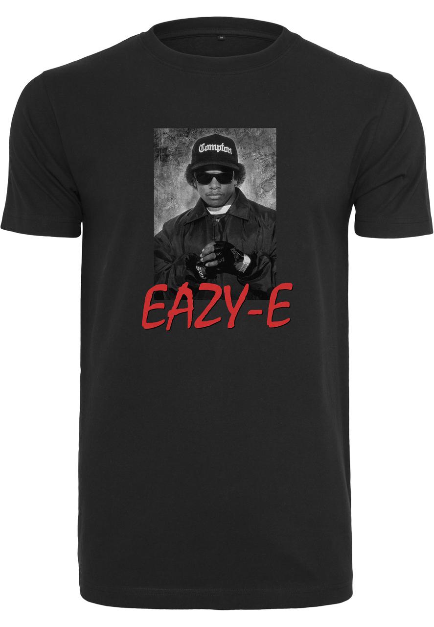 Eazy-E - Tričko Eazy E Logo Tee - Muž, Čierna, XXL